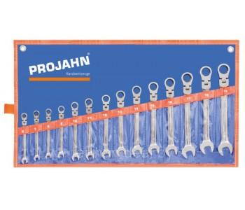 Набор ключей-трещоток с шарниром 4 в 1  Projahn