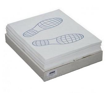 Коврик на пол бумажный 495х480 мм упаковка 500 шт.