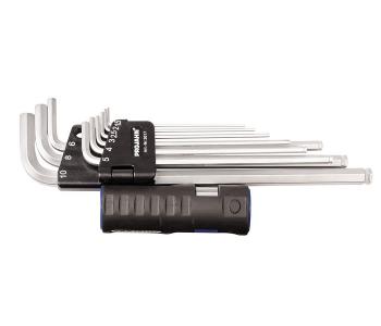 Набор шестигранных ключей с магнитом 1.5-10 мм 9 предм. PROJAHN 3617