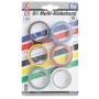 Набор цветных изоляционных лент BGS3024 19 ммх3,5м, 6 шт.