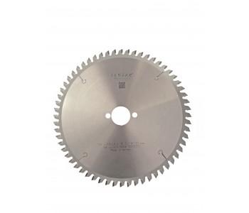 Пильный диск по алюминию 216х2,8х30мм, 60 зубьев