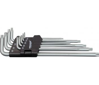 Набор длинных угл. ключей TORX T10-T50, 9 предм.