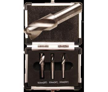 Набор сверл для точечной сварки, 6.5-8-10 мм, 3 предмета BGS 5080