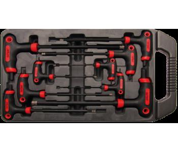 Набор ключей Т-обр. для внутреннего 6-гр., 2-10 мм, 9 предметов BGS 7882