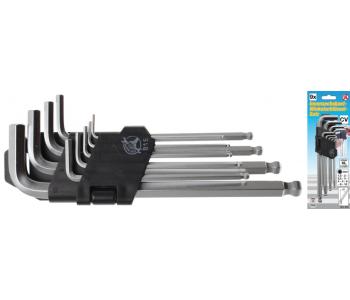 Набор шестигранных ключей 1,5-10 мм 9 предм. BGS 815