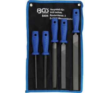 Набор напильников BGS 8494, 5 предметов