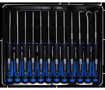 Набор отверток и зацепов для точной механики, 12 предметов BGS 8833