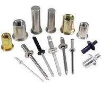 Заклепка ZK 4,0х10 RAL3005 алюм/сталь