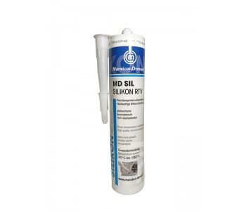 Герметик высокотемпературный MD SIL,  300мл, прозрачный