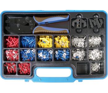 Набор опрессовочных клещей с кабельными наконечниками, 1000 предметов