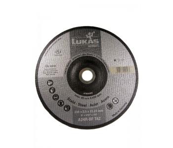 Круг отрезной по металлу Premiumflex, 230x2,5x22,24