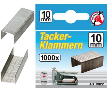 Скобы тип 53, 10х11,4 мм, упаковка 100шт.