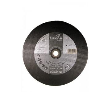 Круг отрезной по металлу для стационарных машин Premiumflex,  350x2,6x25,4