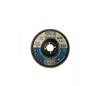 Круг лепестковый Lukas SLTR, 125х22,23 ZK60