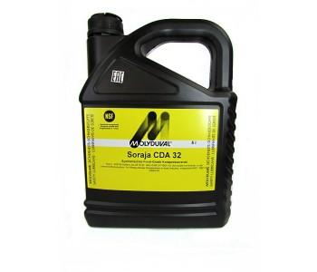 Компрессорное масло MOLYDUVAL Soraja CDA 32, канистра 5л