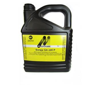 Редукторное масло MOLYDUVAL Soraja GA 220 P, канистра 5л