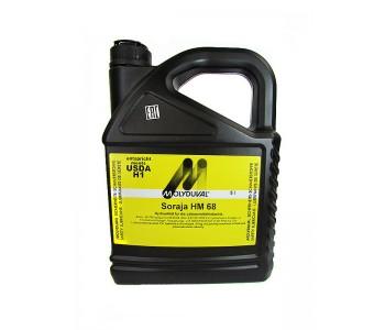 Гидравлическое масло MOLYDUVAL Soraja HM 68 канистра 5 л